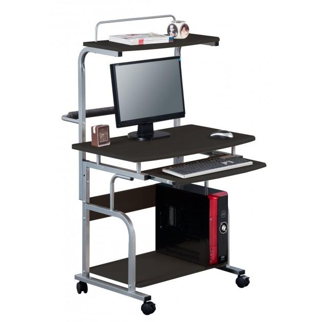 Mobile Porta Computer In Metallo.Scrivania Mobile Porta Computer