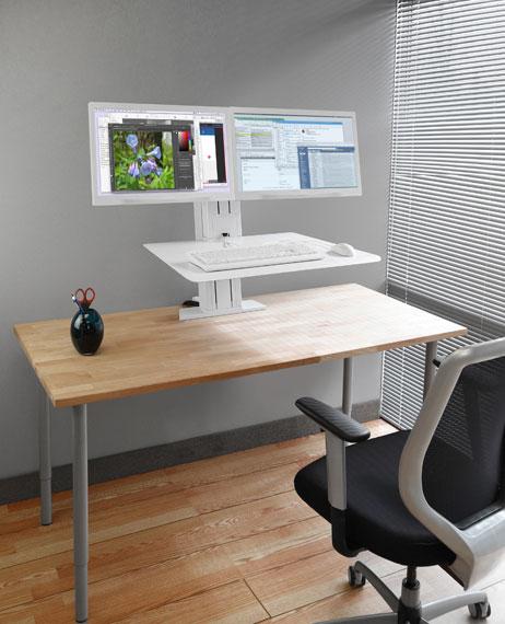 Piano Di Lavoro Scrivania : Postazione di lavoro scrivania per postura seduta eretta