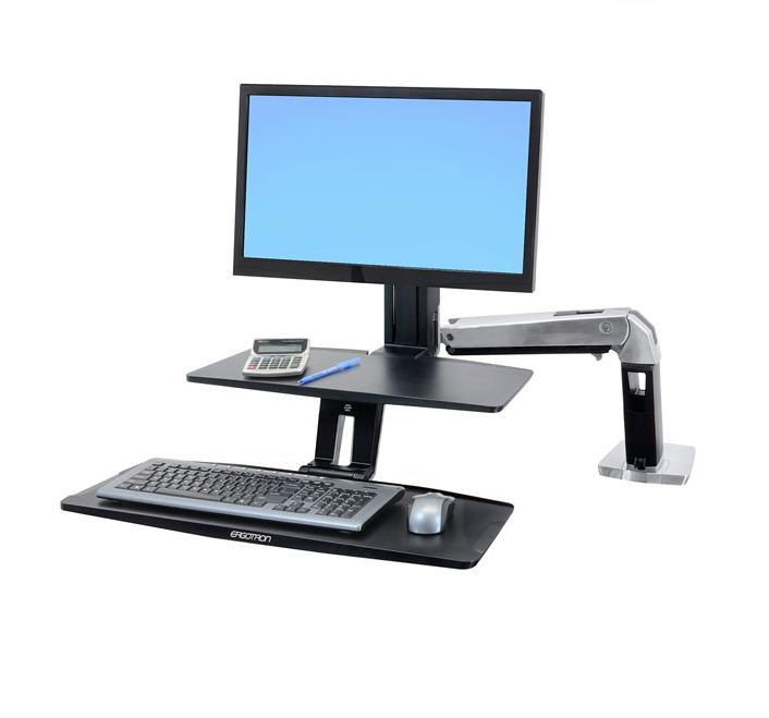 Workfit a con tastiera sospesa hd con schermo di medie - Lettere stampabili di medie dimensioni ...