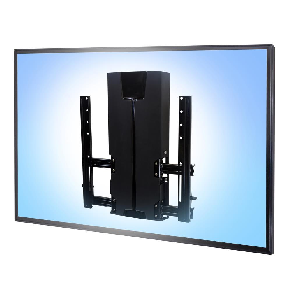 Montaggio a parete con scivolo automatico vhd per grandi e pesanti schermi - Montaggio tv a parete ...
